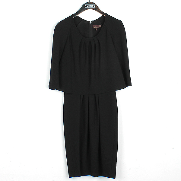 MULBERRY(멀버리) 블랙 컬러 폴리에스터 혼방 여성용 원피스 [강남본점]