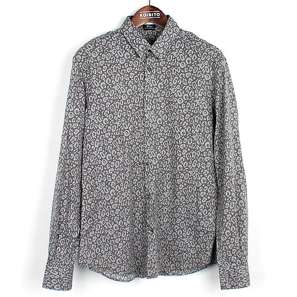 Versace(베르사체) 그레이 컬러 면 혼방 패턴 셔츠 [강남본점]
