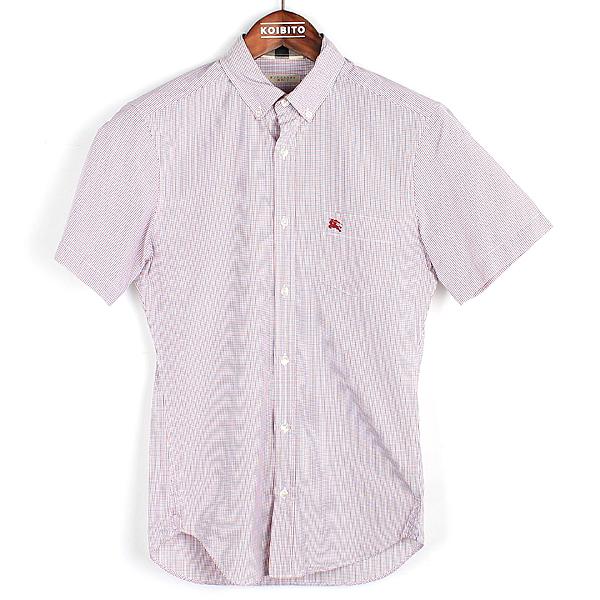 Burberry(버버리) 브릿라인 면 100% 체크 패턴 남성용 셔츠 [강남본점]