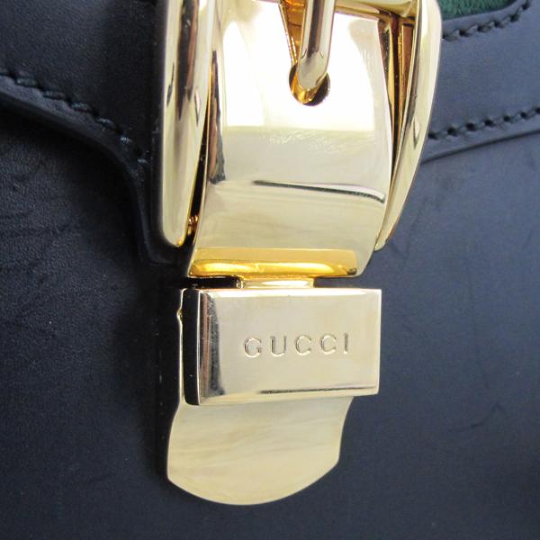 Gucci(구찌) 421882 Gucci Sylvie 실비 블랙 레더 리본 토트백 [대구반월당본점] 이미지6 - 고이비토 중고명품