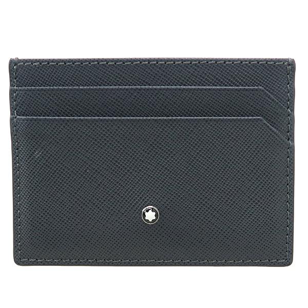 Montblanc(몽블랑) 116337 로고 장식 그레이 컬러 레더 카드 지갑 [강남본점]