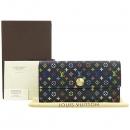 Louis Vuitton(루이비통) M93747 모노그램 멀티 컬러 블랙 사라 월릿 장지갑 [강남본점]