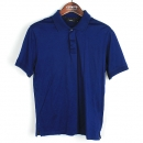 Paul Smith(폴스미스) 면 100% 블루 컬러  반팔 카라 남성용 티셔츠 [강남본점]