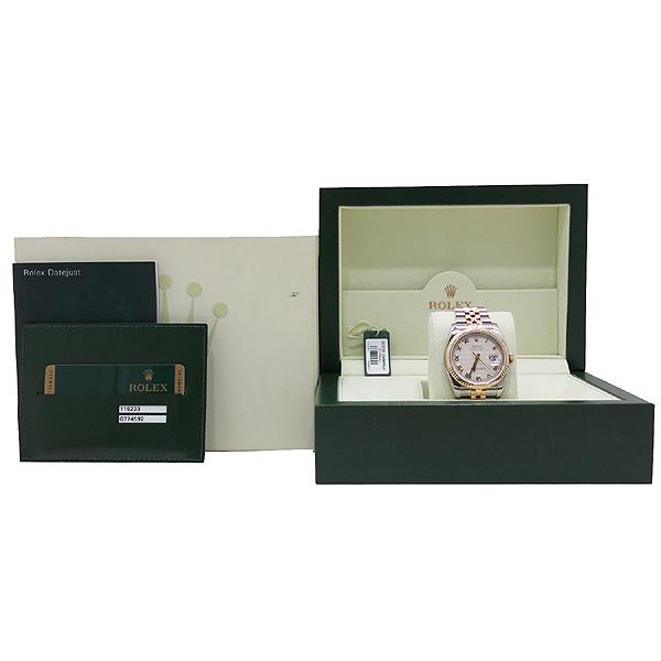 Rolex(로렉스) 116233 DATEJUST(데이저스트) 로마 인덱스 데이트 18K 골드 콤비 쥬빌레 브레이슬릿 오토매틱 남성용시계 [인천점]
