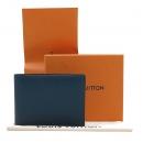 Louis Vuitton(루이비통) M32826 네이비 컬러 타이가 레더 멀티플 월릿 반지갑 [인천점]
