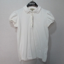 Burberry(버버리) 화이트 컬러 코튼 카라 티셔츠 [대구반월당본점]