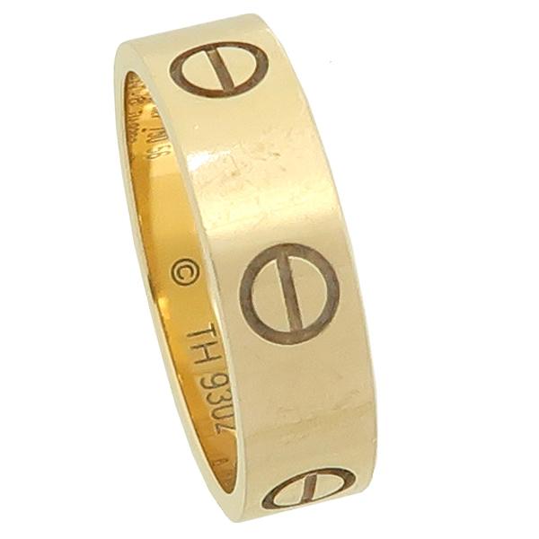 Cartier(까르띠에) B4084656 18K 옐로우 골드 러브링 반지 - 16호 [강남본점] 이미지2 - 고이비토 중고명품