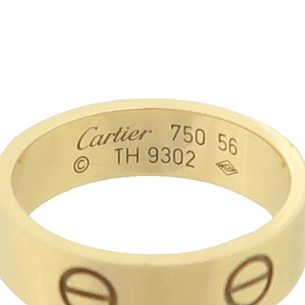 Cartier(까르띠에) B4084656 18K 옐로우 골드 러브링 반지 - 16호 [강남본점] 이미지3 - 고이비토 중고명품