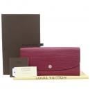 Louis Vuitton(루이비통) M60714 에삐 와인 컬러 에밀리 장지갑 [강남본점]