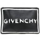 GIVENCHY(지방시) BB6004B01Z 블랙 컬러 레더 그래비티 로고 클러치 [강남본점]