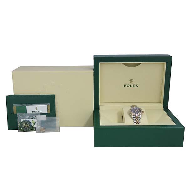 Rolex(로렉스) 신형 279171 18K 핑크 골드 콤비 10포인트 다이아 DATE JUST(데이저스트) 28MM 여성용 시계 [동대문점]