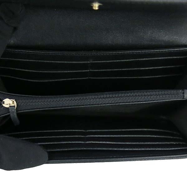 Chanel(샤넬) A58600 블랙 레더 금장 COCO로고 집업 장지갑 [동대문점] 이미지4 - 고이비토 중고명품