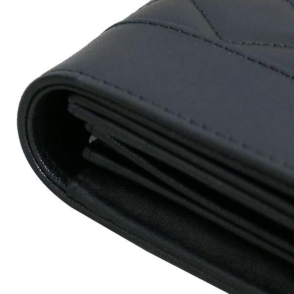Chanel(샤넬) A58600 블랙 레더 금장 COCO로고 집업 장지갑 [동대문점] 이미지5 - 고이비토 중고명품