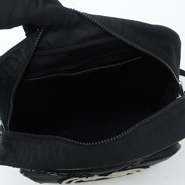 Gucci(구찌) 536724 GG로고 인터로킹 로고 스팽클 자수 장식 블랙 패브릭 백팩 [강남본점] 이미지5 - 고이비토 중고명품