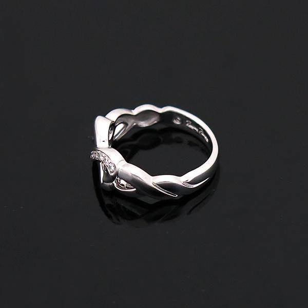 Tiffany(티파니) 18K(750) 화이트 골드 파로마 피카소 9포인트 다이아 더블 러빙하트 반지 - 12호 [부산센텀본점] 이미지3 - 고이비토 중고명품