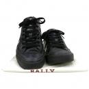 Bally(발리) 삼색 스치티 블랙 PVC 레더 혼방 남성용 스니커즈 [강남본점]