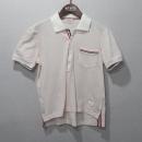 THOM BROWNE(톰브라운) MJP022 핑크 컬러 남성용 반팔 카라 티 [대구반월당본점]