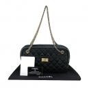 Chanel(샤넬) A40011 블랙 빈티지 2.55 금장체인 스퀘어 사각 숄더백 [부산센텀본점]