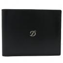 Dupont(듀퐁) 077006 D로고 블랙 레더 반지갑 [인천점]