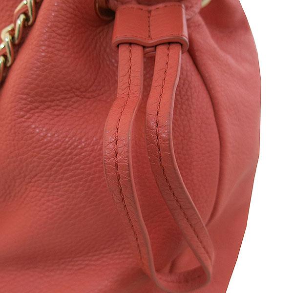 TORY BURCH(토리버치) TB3A9C35L6 오렌지 컬러 로고 장식 금장 체인 숄더백 [대구동성로점] 이미지4 - 고이비토 중고명품