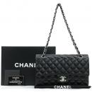 Chanel(샤넬) A01112Y01588 램스킨 블랙 클래식 M사이즈 은장 체인 숄더백 [강남본점]