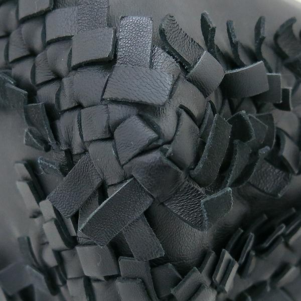 BOTTEGAVENETA (보테가베네타) 한정판 블랙레더 위빙 체인 토트백 [부산센텀본점] 이미지5 - 고이비토 중고명품