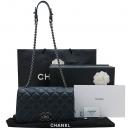 Chanel(샤넬) A93017 네이비 카프 레더 S 사이즈 시티 락 플랩 체인 숄더백 [인천점]