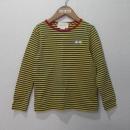 Gucci(구찌) 475731 옐로우블루 스트라이프 패턴 아동용 긴팔 티셔츠 [대구반월당본점]