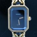Chanel(샤넬) PREMIERE(프리미에르) 금장 체인 S사이즈 여성용 시계 [동대문점]