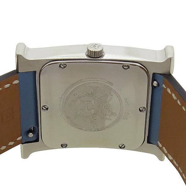 Hermes(에르메스) HH1.510 H-OUR H 아워 은장 펜던트 가죽 밴드 남성용 시계 [강남본점] 이미지4 - 고이비토 중고명품