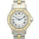 Cartier(까르띠에) 빈티지 산토스 옥타곤 18k 콤비 여성용 오토매틱 시계 [강남본점]