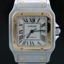 Cartier(까르띠에) W20058C4 산토스 갈베 Santos Galbée 18K 콤비 오토매틱 L사이즈 남여 공용 시계 [인천점]