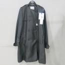 MONCLER(몽클레어) Merope 나일론 우븐패턴 블랙컬러 여성용 트렌치 코트 [부산센텀본점]