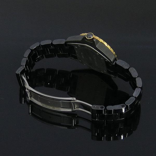Chanel(샤넬) H2543 J12 18K 골드 베젤 콤비 블랙 세라믹 11포인트 여성용 시계 [동대문점] 이미지3 - 고이비토 중고명품