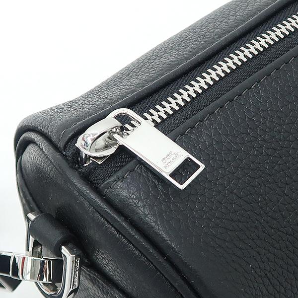 Dior(크리스챤디올) Dior HOMME(디올옴므) 아틀리에 이니셜 로고 블랙 레더 롤러 컬러치겸 크로스백 [강남본점] 이미지4 - 고이비토 중고명품