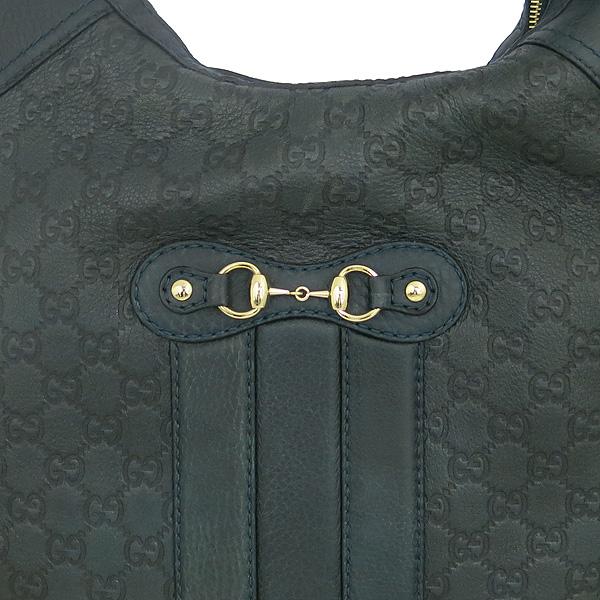 Gucci(구찌) 247287 GG 로고 그린 시마 레더 금장 숄더백 [대전본점] 이미지4 - 고이비토 중고명품
