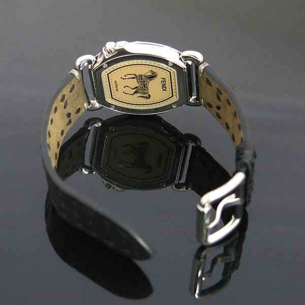 Fendi(펜디) 8400M 셀러리아 베젤 다이아 자개판 가죽 밴드 여성용 시계 [동대문점] 이미지3 - 고이비토 중고명품