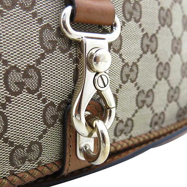 Gucci(구찌) 257024 태슬 장식 브라운 레더 트리오 크로스백 [부산센텀본점] 이미지3 - 고이비토 중고명품