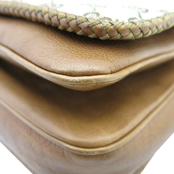 Gucci(구찌) 257024 태슬 장식 브라운 레더 트리오 크로스백 [부산센텀본점] 이미지5 - 고이비토 중고명품