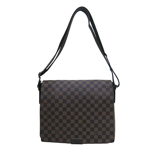 Louis Vuitton(루이비통) N41212 다미에 에벤 캔버스 디스트릭트 MM 크로스백 [부산센텀본점] 이미지2 - 고이비토 중고명품