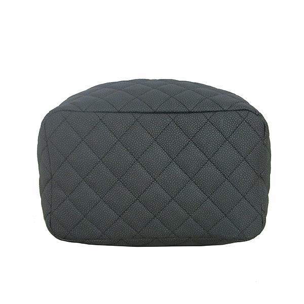 Chanel(샤넬) A91273 블랙 소프트캐비어 드로스트링 버킷 스몰 체인 토트백+숄더 스트랩 [동대문점] 이미지4 - 고이비토 중고명품