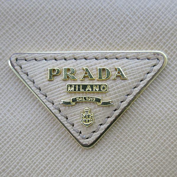 Prada(프라다) BN2274 SAFFIANO LUX NOISETTE 베이지 사피아노 레더 럭스 토트백+숄더스트랩 [부산센텀본점] 이미지4 - 고이비토 중고명품