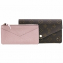 Louis Vuitton(루이비통) M62202 모노그램 캔버스 Jeanne Wallet 지안느 월릿 장지갑 [강남본점]