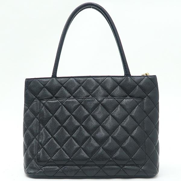 Chanel(샤넬) A01804 블랙 캐비어 스킨 금장 코인 토트백 [강남본점] 이미지4 - 고이비토 중고명품