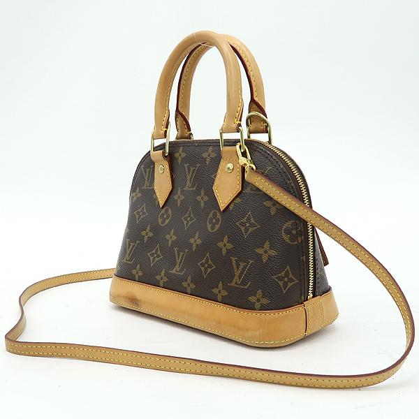 Louis Vuitton(루이비통) M53152 모노그램 캔버스 알마 BB 토트백 + 숄더스트랩 2WAY [강남본점] 이미지3 - 고이비토 중고명품