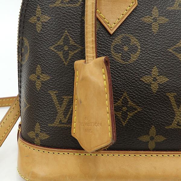 Louis Vuitton(루이비통) M53152 모노그램 캔버스 알마 BB 토트백 + 숄더스트랩 2WAY [강남본점] 이미지4 - 고이비토 중고명품