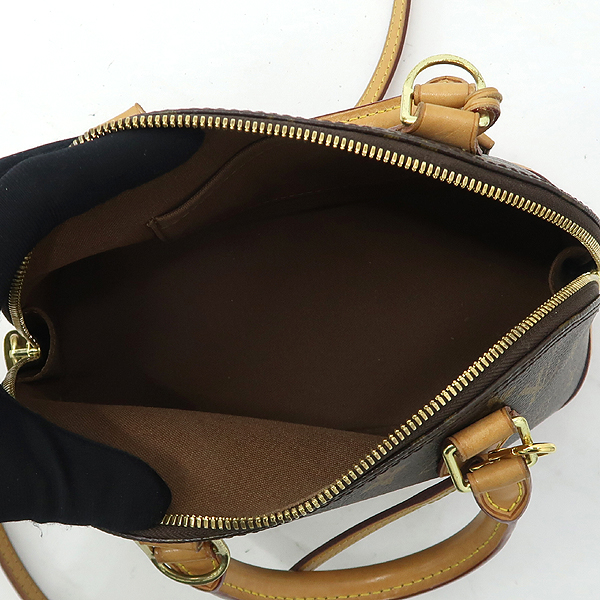 Louis Vuitton(루이비통) M53152 모노그램 캔버스 알마 BB 토트백 + 숄더스트랩 2WAY [강남본점] 이미지5 - 고이비토 중고명품