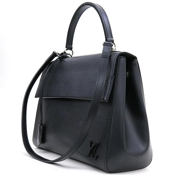 Louis Vuitton(루이비통) M41302 블랙 에삐 레더 클루니 MM 토트백 + 숄더스트랩 2WAY [강남본점] 이미지3 - 고이비토 중고명품
