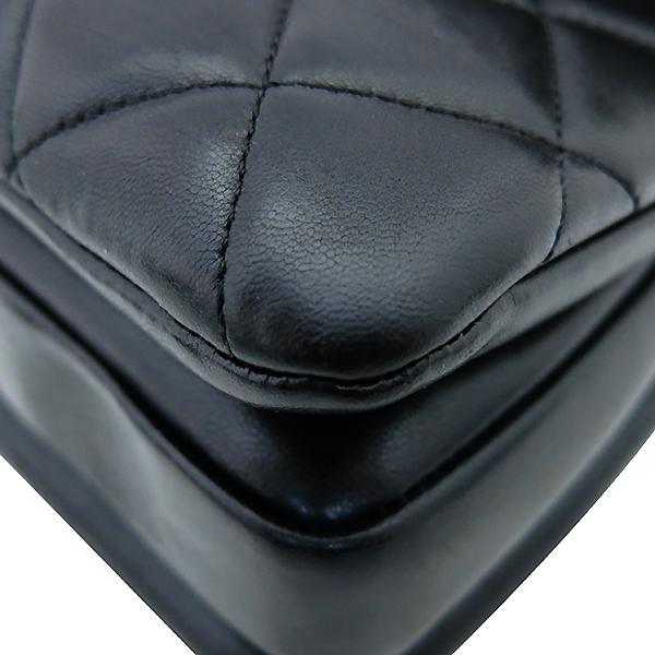 Chanel(샤넬) A92236 램스킨 블랙 컬러 퀼팅 TRENDY CC 트렌디 CC 핸들 골드메탈 금장로고 플랩 토트백 + 체인스트랩 2WAY [부산센텀본점] 이미지7 - 고이비토 중고명품