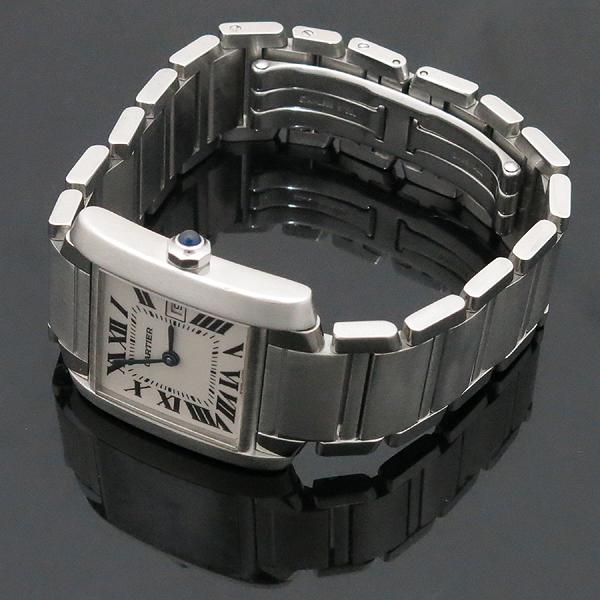Cartier(까르띠에) W51011Q3 탱크 프랑세즈 M사이즈 쿼츠 스틸 남여공용 시계  [인천점] 이미지2 - 고이비토 중고명품